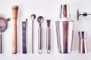 bartending utensils and tools