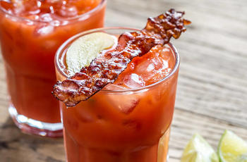 unusual bacon cocktail