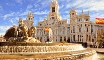 fuente de cibeles madrid fountain - spain