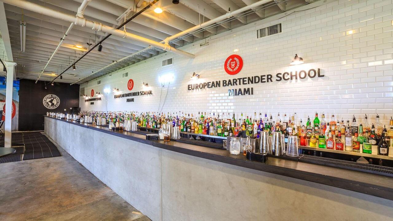 bartender school miami bar stations