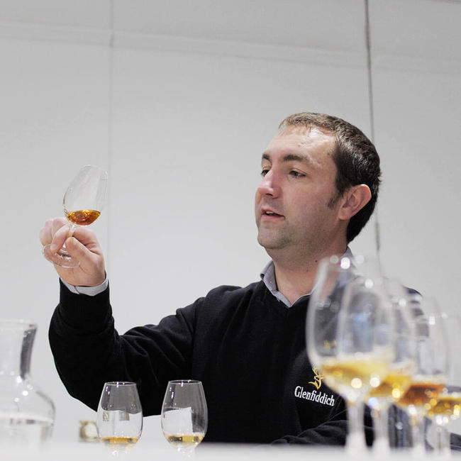 Ludovic Ducrocq tasting whisky
