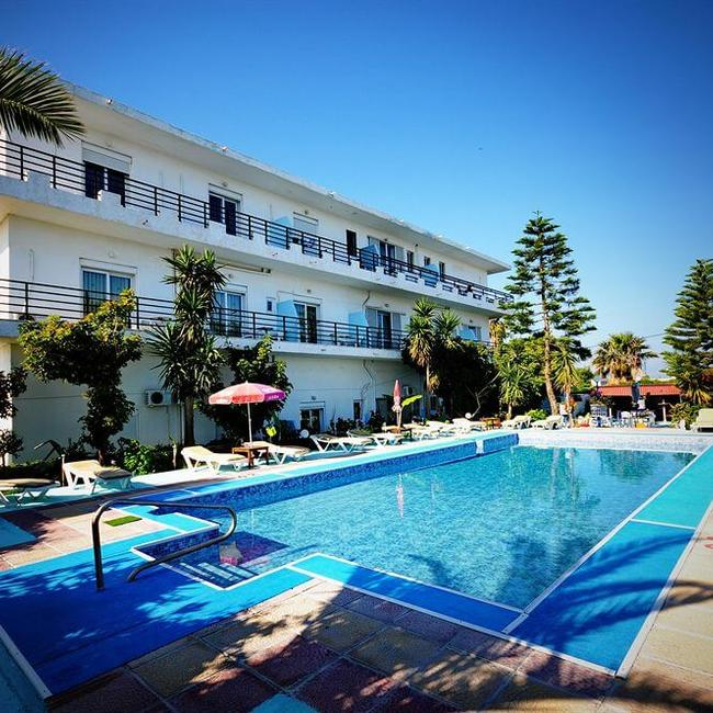 kos accommodation with swimming pool