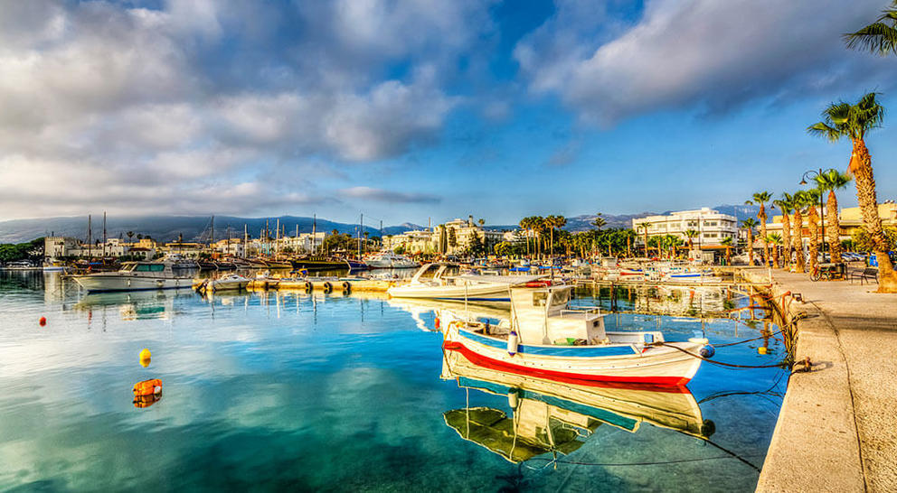 kos harbour landscape greece